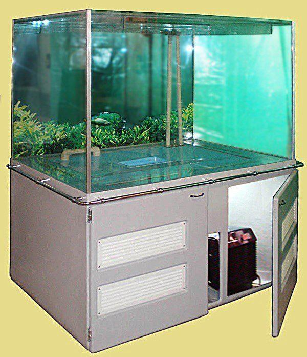 Холодильное оборудование для торгового аквариума